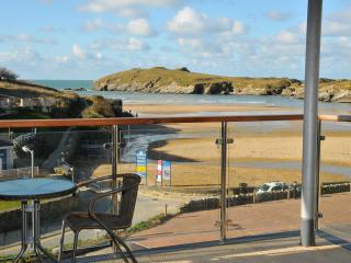 Porth Beach View