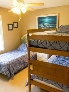 Bedroom 2 With Bunkbed And 1 Single Bed