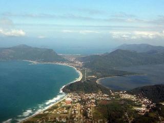 Florianópolis -  Lagoa do Peri e Praia da Armação