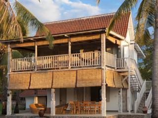 Gili Eco 2 Bedroom Luxury Villa with Pool on Beach