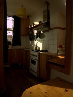 Artroom kitchencorner
