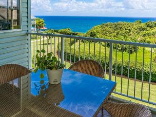 Cliffs 7303: Spacious 1br + loft, great resort amenities, VIEW!  Sleeps 6., Princeville