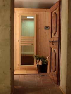 Sauna in Resort