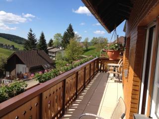 Pension Glöcklehof - Doppelzimmer mit Balkon