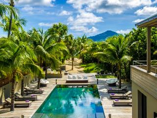 Villa K at Anse des Cayes, St. Barths - On The Beach, Ocean View, Long Heated