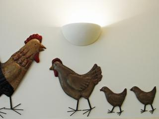 We are a bit chicken-mad here!