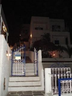 Tatsis Apartments main entrance