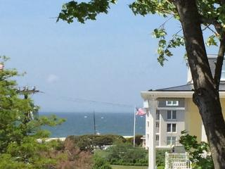 Historic Jackson Street just 1/2 Block to Beach with Roof Deck w/Ocean Views