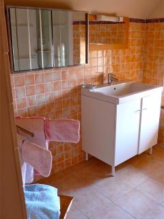 Le cabinet de toilette