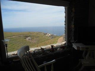 VIEW TO AEGEAN BLUE, Kea