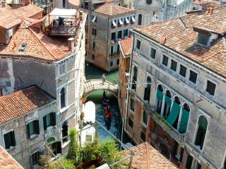 Timeless Venice from high above in a noble palace with 360 degree views.