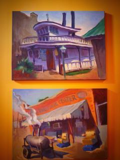 Original art of the Mississippi Delta. We have 23 artist's original works our three unique places