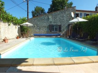Charming gite with private heated pool & walled CY, Aulnay
