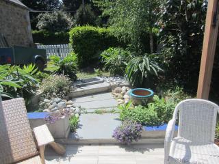 Bretagne Kuste Gartenhaus