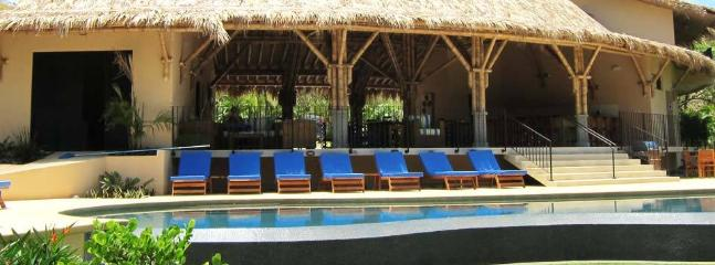 Beach Club at Playa Ocotal, for our guests to use
