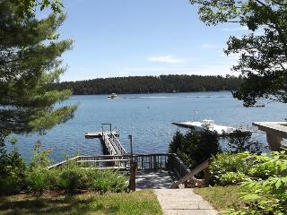QUAHOG BAY | HARPSWELL, MAINE | OCEANFRONT | BOATING | DOCK & FLOAT | FAMILY VAC