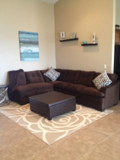 Big Sectional sofa w/ottoman