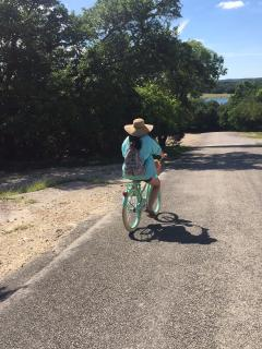 Bring your bikes and explore the area!