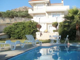 Aris Palace 300m² Villa Prive Pool Family Quiet, Karteros