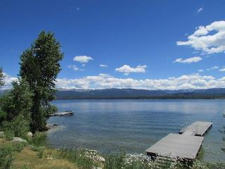 Lakefront Lower Level Flat on Payette Lake with Dock, McCall