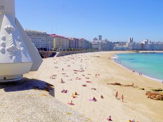 Apartamento a tres minutos de la playa, La Corogne