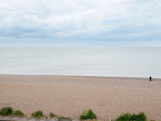 View from house overlooking Aldeburgh beach