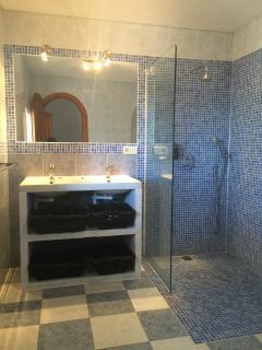 Master bedroom en suite walk in shower room