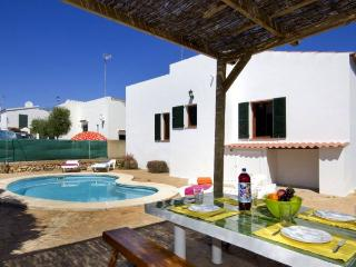 Villa with barbecue,views Cala, Ciutadella