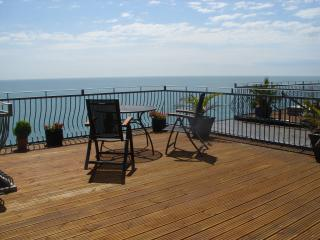 CROW'S NEST - BRIGHT SEA VIEW APARTMENT, Ventnor