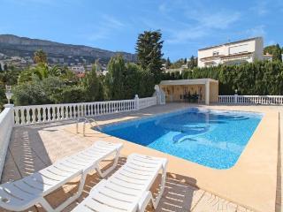 Villa with garden,terrace Calp, Calpe