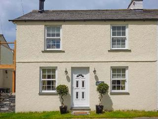SADDLEBECK, pet-friendly ground floor apartment, en-suite, patio, next to inn