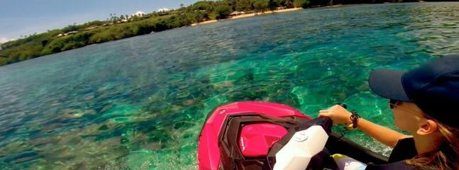 Jet Ski, Paddle Boards, Surf Boards, Kite Surf, Scuba Dive ( Dive Master on Site)