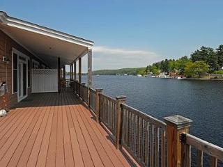 Waterfront Condo On Winnipesaukee with a 30ft dock