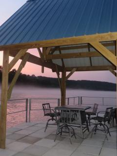 Perfect to enjoy a picnic lunch on the water.