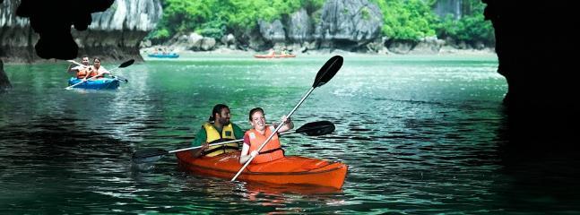 Activités de kayak