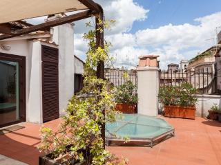 Navona 2BR attic with terrace, Rome