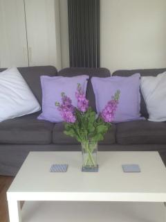 Comfortable three seater sofa