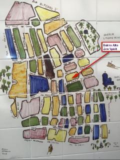 map od Bairro Alto