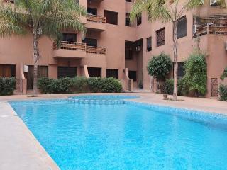Nice Apart center & terrace & Wifi, Marrakech