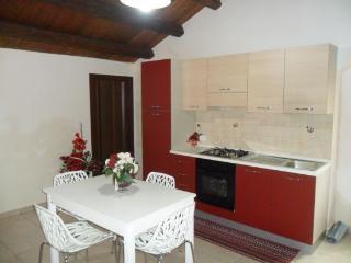 cucina soggiorno appartamento 1