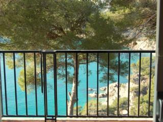 Estudio con vistas al mar y piscina, Tossa de Mar