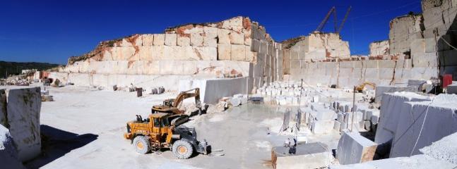 Le cave di marmo di Custonaci