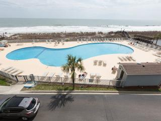 Direct Oceanfront 1 Bedroom Condo with Pool, Tennis Court, Hot Tub