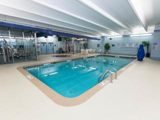 Family Friendly Ocean Front Condo with Gym, Sauna, and Jacuzzi