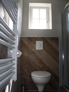 Salle d'eau (les WC)