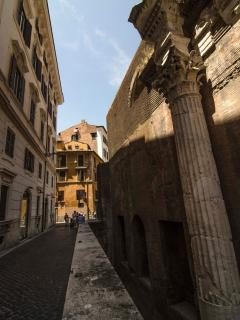 View of the building from the Pantheon