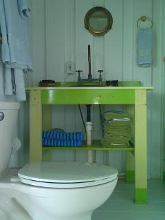 Bathroom & Shower adjoin the bedroom
