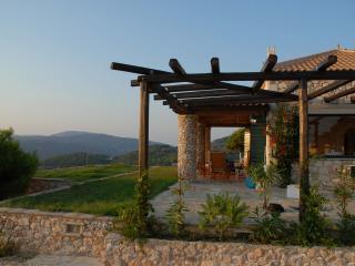 Villa con tramonto, Zakynthos