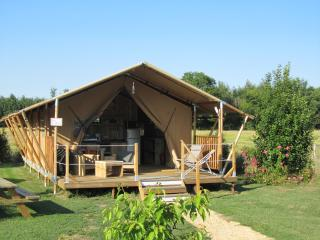 Tente lodge safari La Clairiere