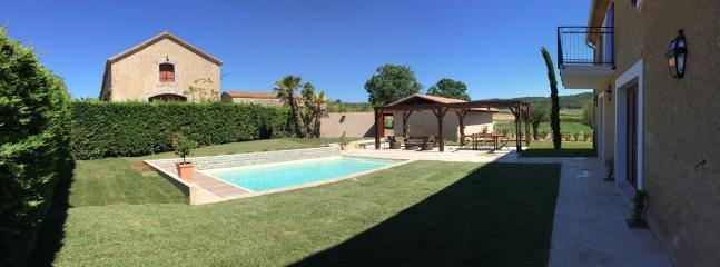 Le jardin privé côté piscine